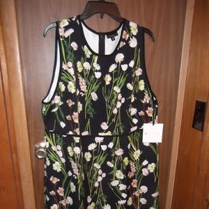Floral Victoria Beckham Dress NWT